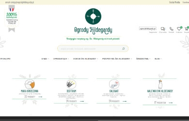 Sklep online & Ogrody Hildegardy