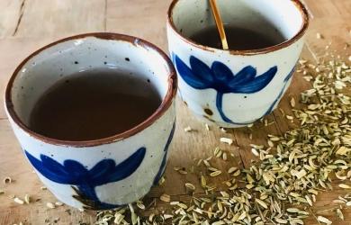 Herbatka z wrotyczem balsamicznym